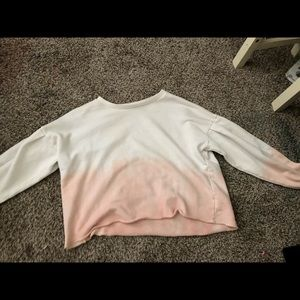 faded color long sleeve